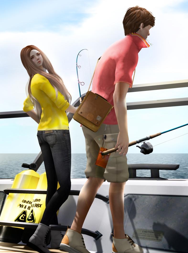 keep fishing