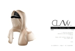 C L A Vv. Leather Hoodie Cap Tan